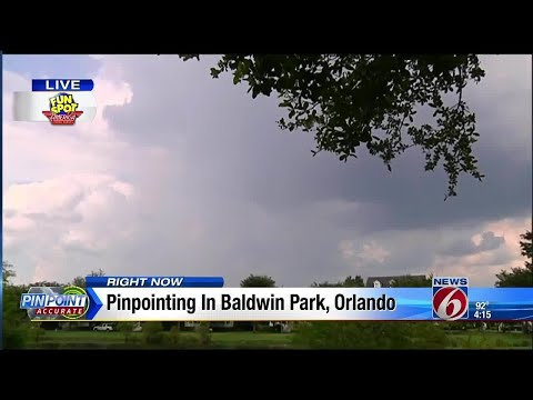 Pinpointing in Baldwin Park, Orlando