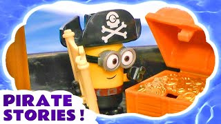 pirate stories with minions pirates sharks and thomas and friends engines compilation inc peppa pig