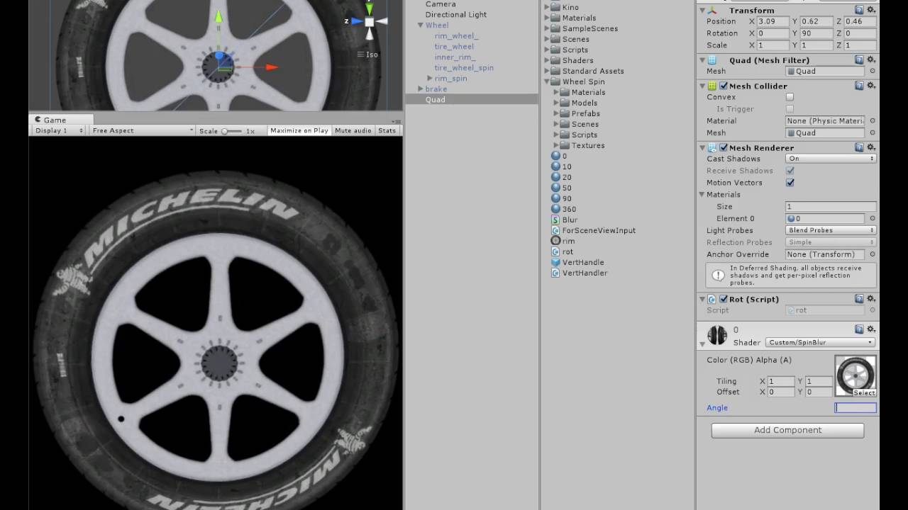 Radial Blur Shader - Texture - Unity Forum