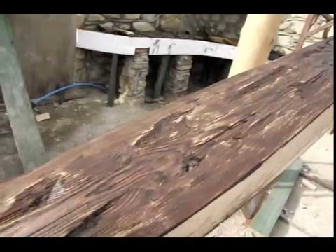 видео: Как состарить дерево.avi