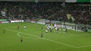 Höjdpunkter: Målvaktstabbar och dramatik när Häcken slog Hammarby - TV4 Sport