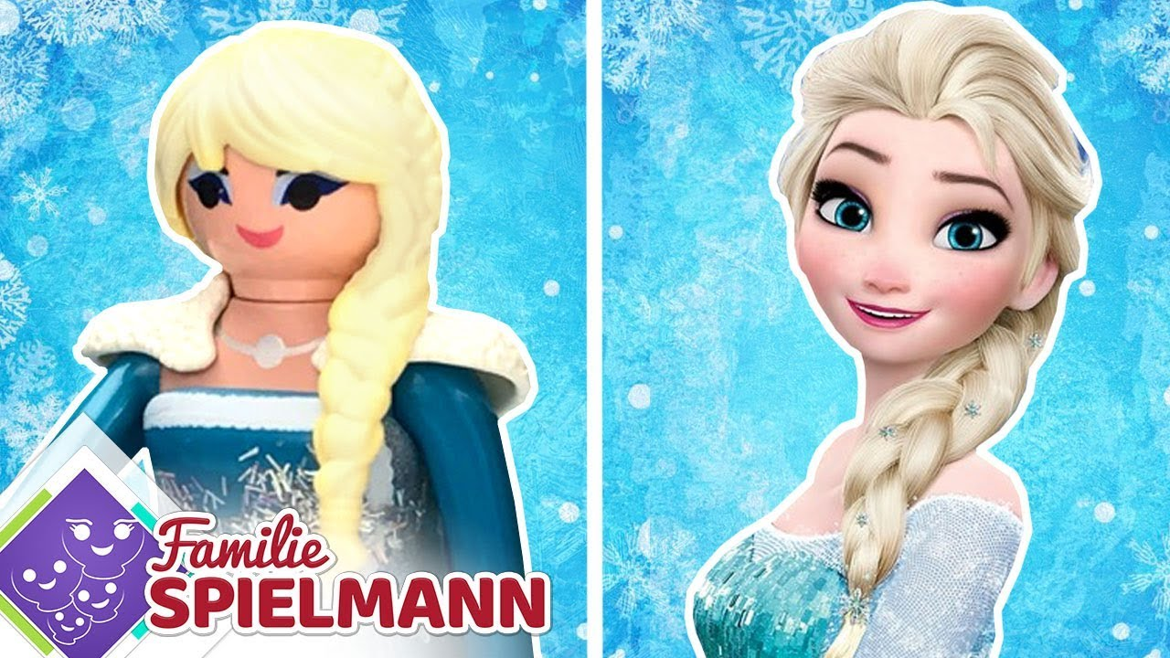 5 figuren von frozen aus playmobil elsa anna und mehr youtube. Black Bedroom Furniture Sets. Home Design Ideas