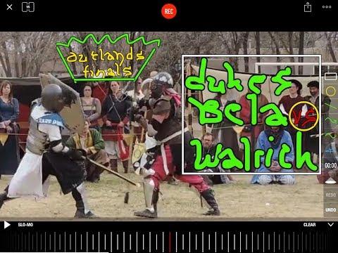 Medieval Combat Video Review: Duke Béla vs. Duke Walrick Outlands Crown Finals