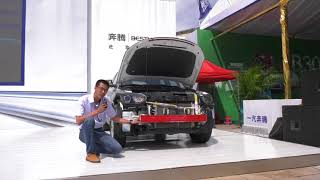 The Car (automobile)Of China FAW BESTURN X80 中国一汽奔腾X80