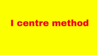i centre method | i centre method solved question | instantaneous centre method nptel | i centre thumbnail