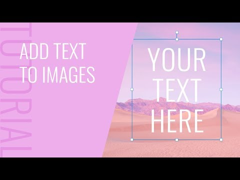 How To Add Text To An Image