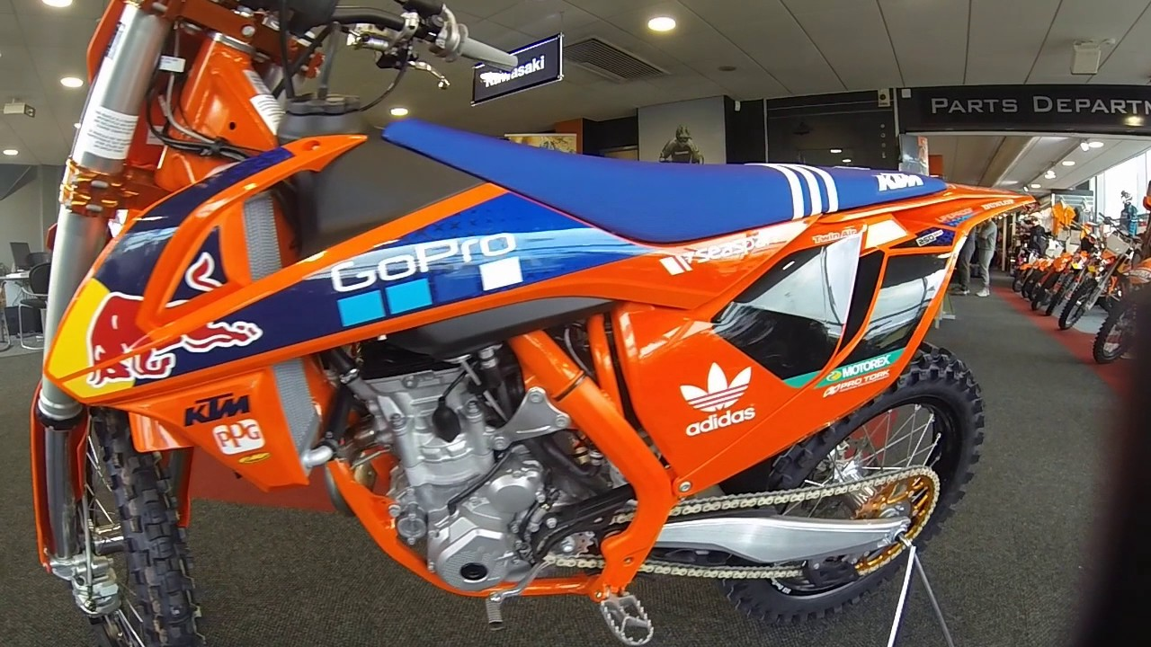 2017 ktm 250 sx-f factory edition - youtube