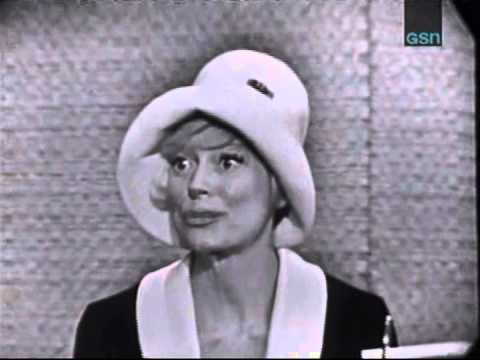 What's My Line Mystery Guest Carol Channing - YouTube