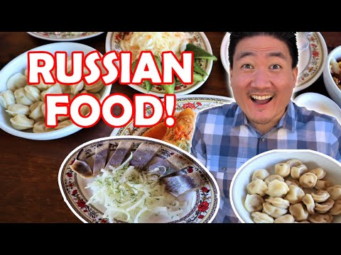 Trying RUSSIAN and