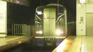 名鉄2000系ミュースカイ名鉄名古屋駅到着※警笛あり