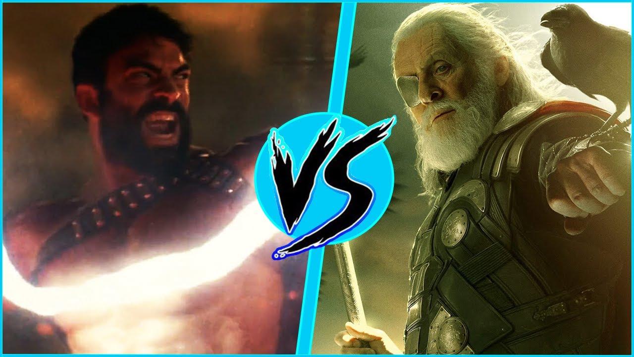 Odin VS Zeus   BATTLE ARENA   MCU vs DCEU   Loki   DanCo VS