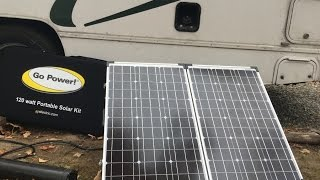 Go Power Portable Solar Panel (for RV) Review