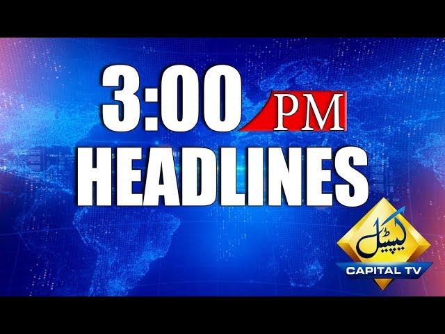 Headlines 3 PM