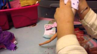 how to make doll clothes from old socks Thumbnail