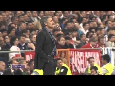 Jose Mourinho ChL final 2010