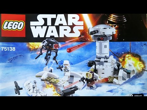 Lego 75138 Star Wars Hoth Attack Review