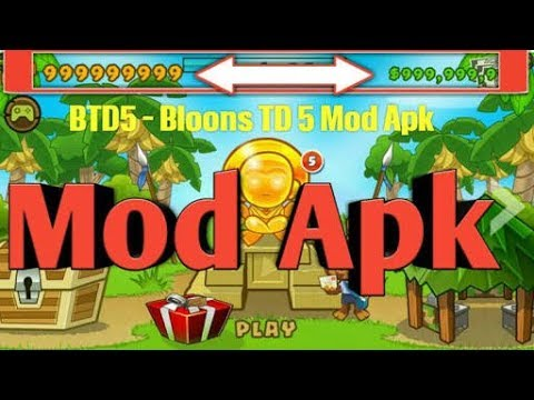 Bloons TD 5 - 3 10 UNLIMITED MONEY AND EVERYTHING UNLOCKED (MOD APK  DOWNLOAD)