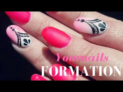 💅 FORMATION YOURNAILS POSE ONGLES 💅 PAS A PAS TUTORIAL l AST