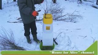 видео Электрический веткоизмельчитель  IKRA-Mogatec EG-2500 для сада продажа