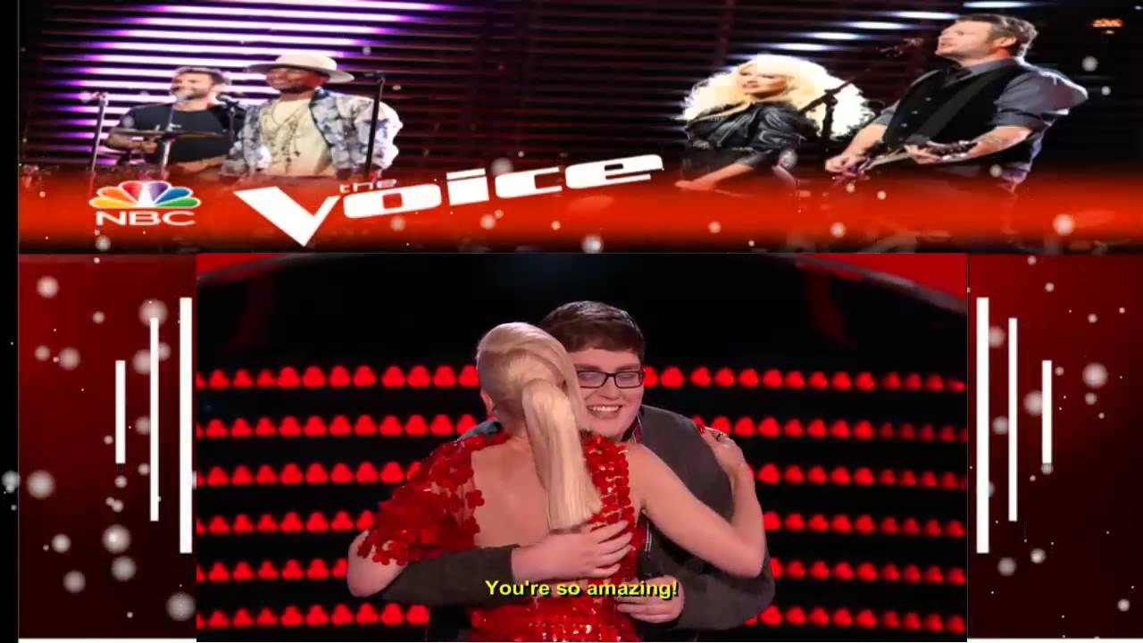 "The Voice 2015 Blind Audition Jordan Smith ""Chandelier - YouTube"