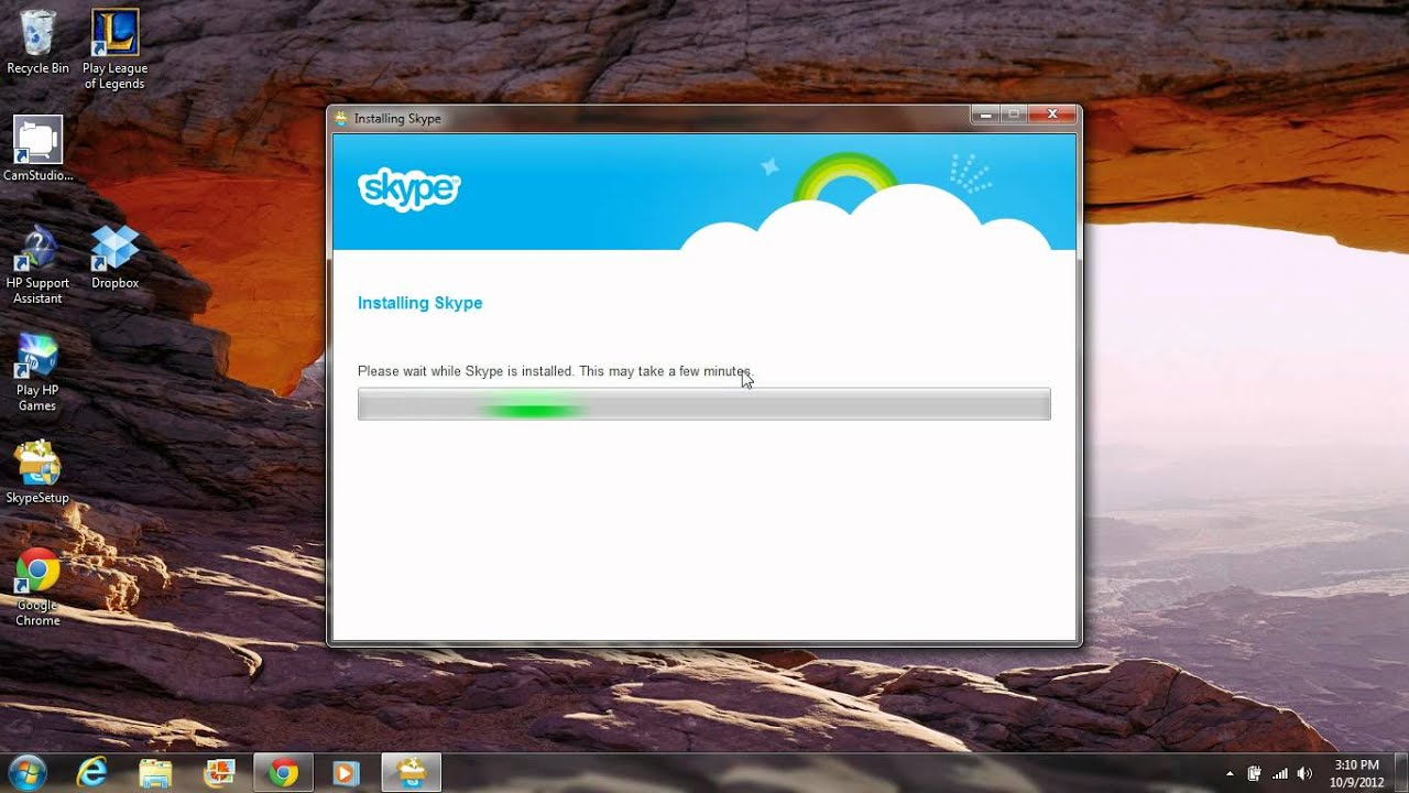 How to Install Skype on a Windows 7 Laptop: 5 Steps