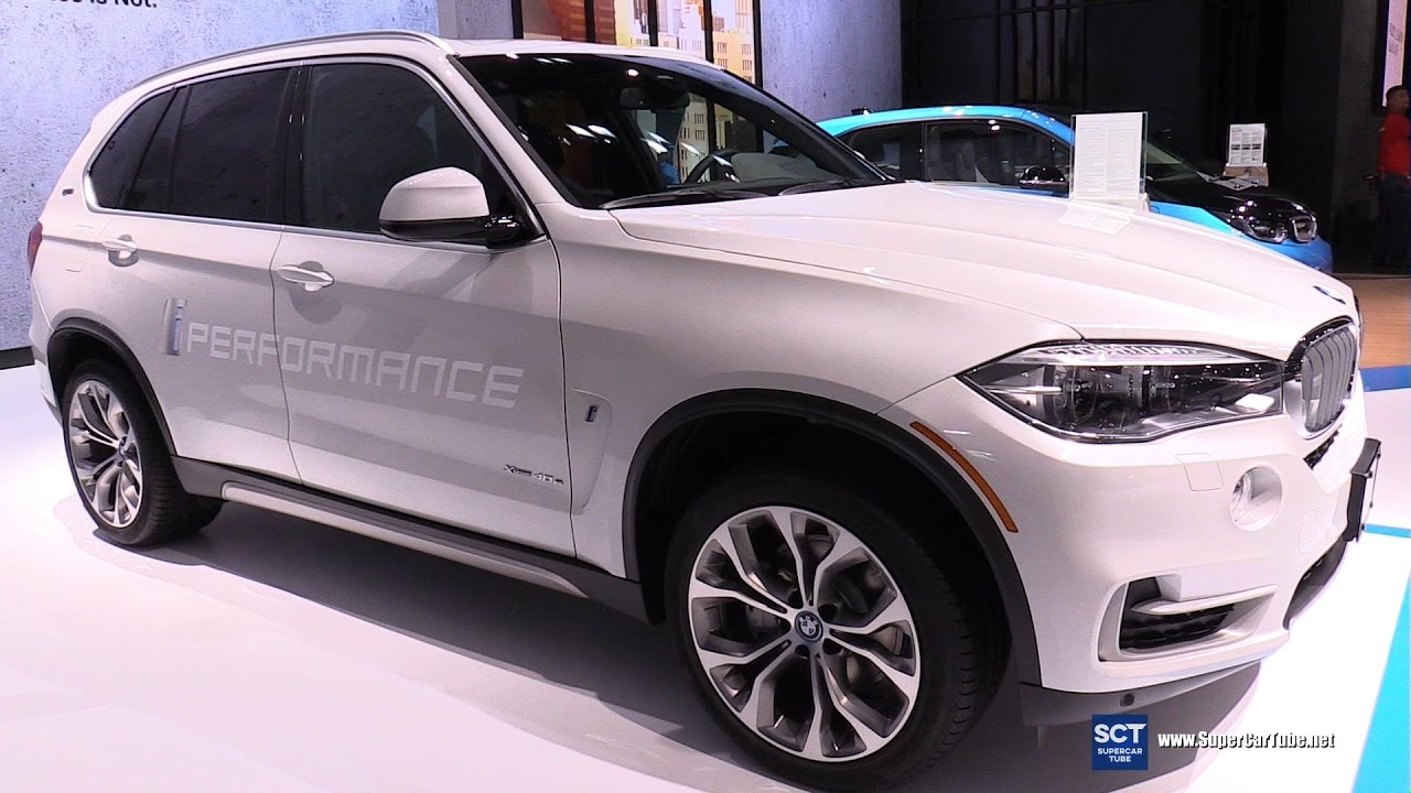 2017 BMW X5 eDrive 40e iPerformance - Exterior and ...