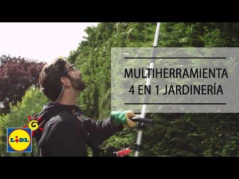 Multiherramienta 4 en 1 de Gasolina Para Jardinería - Lidl España
