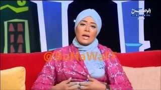 إيمان نجم عاجبها مشهد تقبيل القدم وتطالب بتطبيق المشاهد بالحقيقه