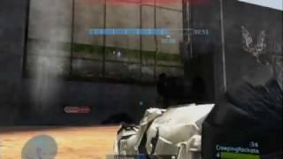 Rag-doll glitch in a Halo 3 creeping rockets infec