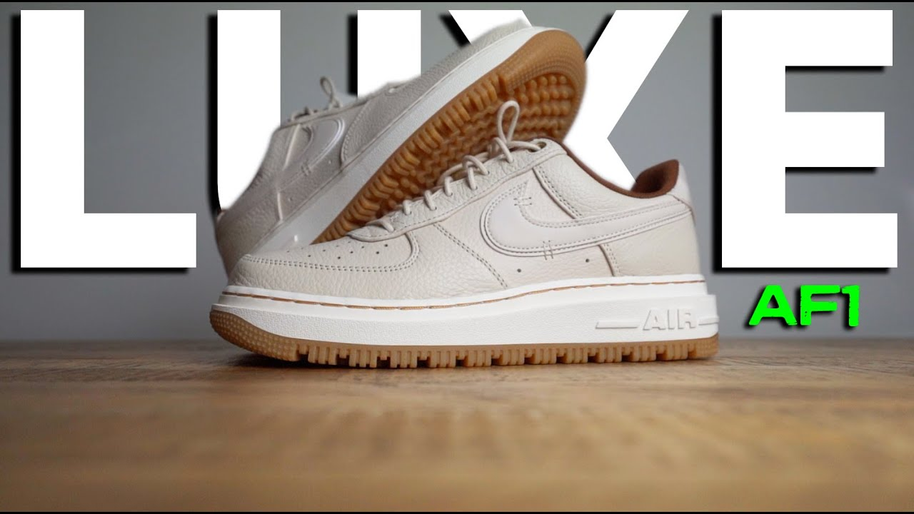 WOW..NEXT LEVEL! Nike AF1 LUXE Review & On-Foot