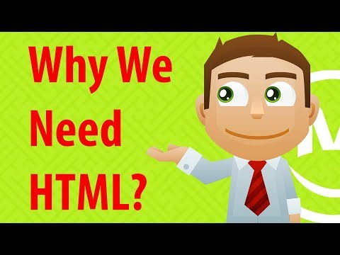 Why We Need HTML? What Is HTML? | Lecture 1