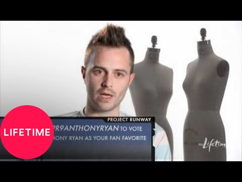 Project Runway: Anthony Ryan Auld Video Diary: Episode 2  Lifetime