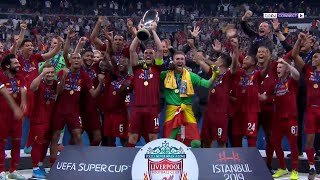 Liverpool 2-2 Chelsea (5-4 on pens)   UEFA Super Cup 2019 Match Highlights