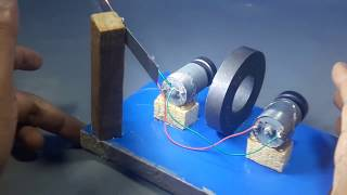 how to make free energy electricity generator   science projects 2018