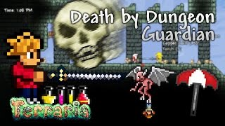 Terraria Let's Play - Death by Dungeon Guardian [16]