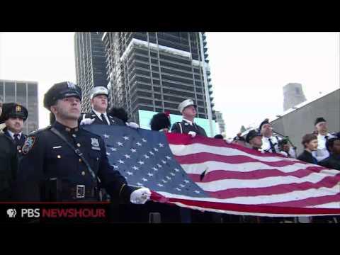 Ground Zero 9/11 Anniversary Begins