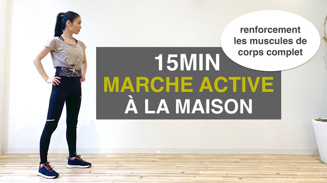 Download 15MIN MARCHE ACTIVE exercice débutant//15MIN ACTIVE WALKING beginner exercise