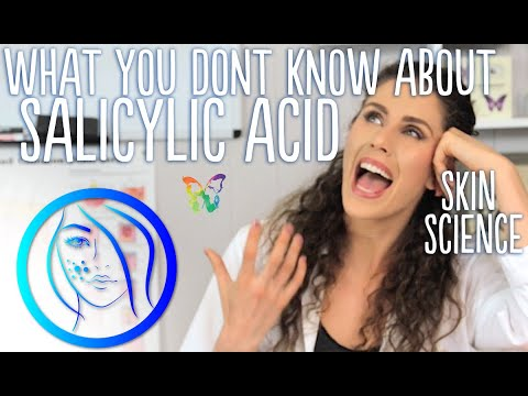SALICYLIC Acid FOR ACNE - A BHA ACID FOR OILY SKIN  & WARTS | Skin Science
