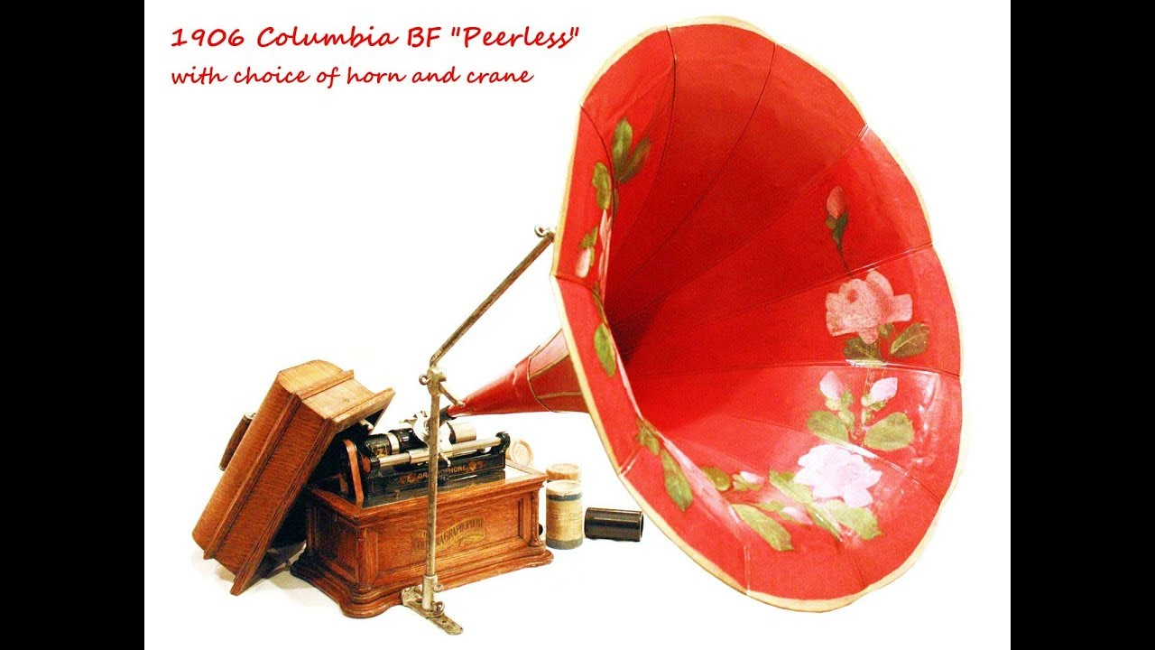 Columbia BF Peerless Graphophone: Lincoln's Gettysburg address and  Sauerkraut is Bully