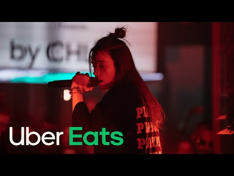 Billie Eilish Talks Baking & Performs 'you should see me in a crown' Live @ SXSW | Uber Eats