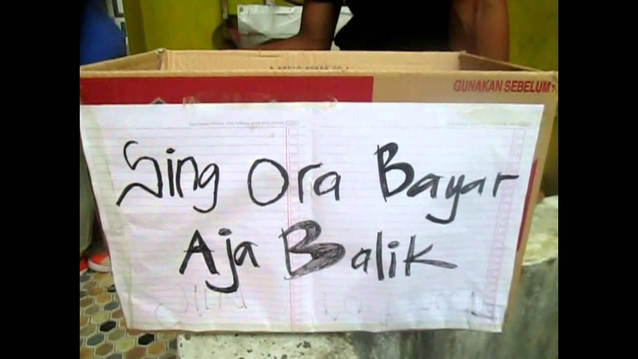 Iklan Parodi Bahasa Jawa Ngapak
