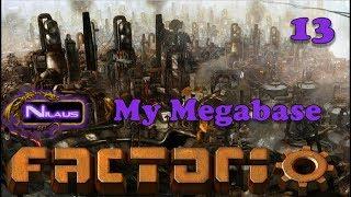 Factorio - My Megabase E13 - Copper Smelting Outpost - Video