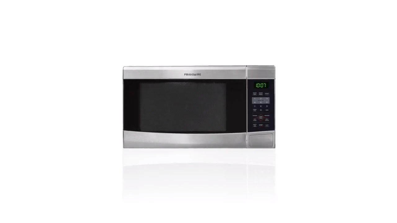 frigidaire 1 1 cu ft 1 100 watt countertop microwave