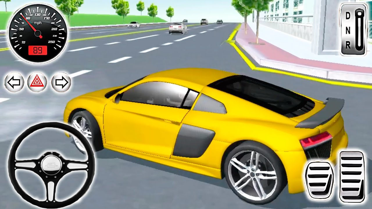 3d Driving Class Simulator Car games Android Gameplay #8