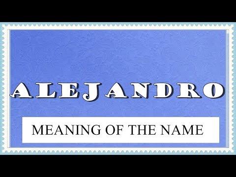 BA NAME ALEJANDRO MEANING, FUN FACTS, HOROSCOPE