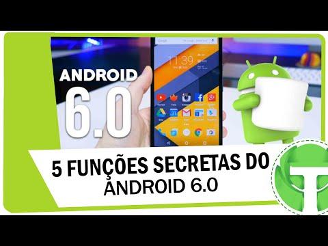 5 Funções secretas do Android 6.0 Marshmallow