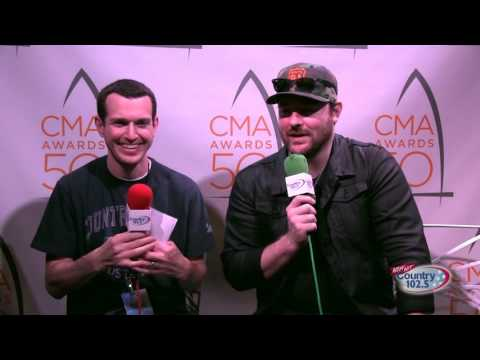 The 50th Annual CMA Awards Broadcast: Chris Young Interview