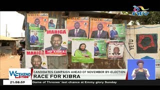 kibra by election candidates discredit each other