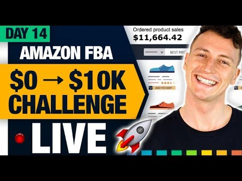 AMAZON FBA $10,000 CHALLENGE 🚀 (Day 14) The Perfect Photo Formula!