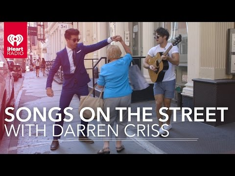 Darren Criss Live Street Performance in NYC
